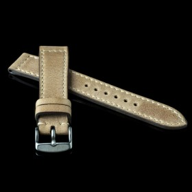 flat calf leather pull skimo
