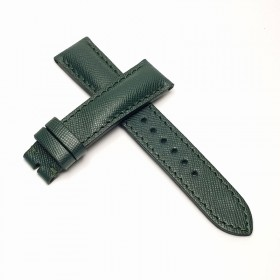 Padded Calf Leather Green Saffiano