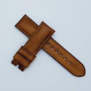 "Flat leather ""patina vintage"". Estrecha"