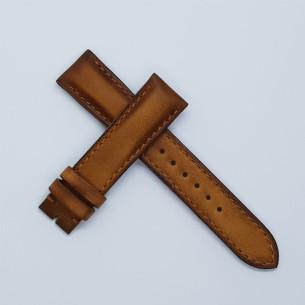 """Plana marrón claro """"patina vintage"""" . Ancha"""