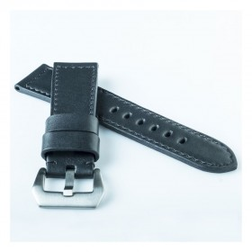 Flat Calf Leather Black Premier Wide - Stock