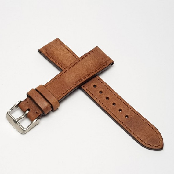 Padded Calf Leather Español Pull- Stock