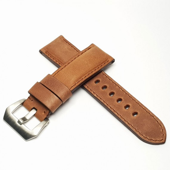 Padded Calf Leather Español Pull. Wide- Stock