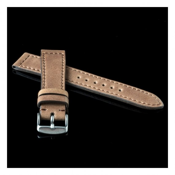 Flat Calf Leather Pull Español- Stock