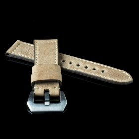Flat Calf Leather Pull Skimo Wide