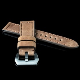 Flat Calf Leather Pull Español Wide