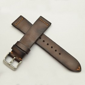 "Minimal traversed dark brown ""Patina Vintage"""